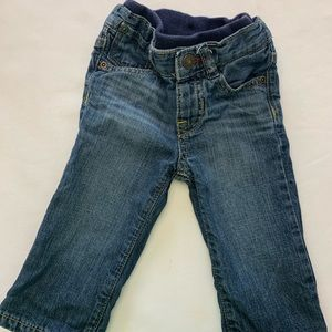 Gap 6-12 month lined jeans